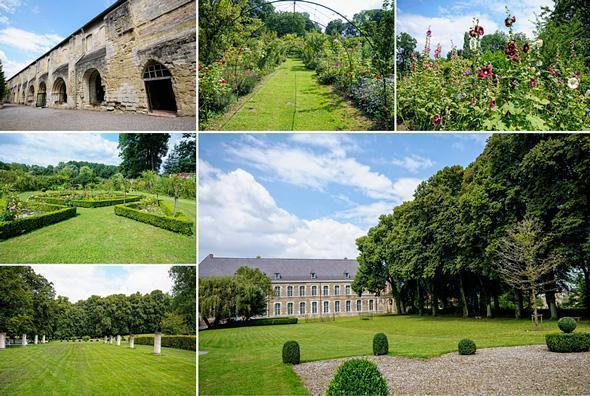 The pretty gardens of Vaucelles