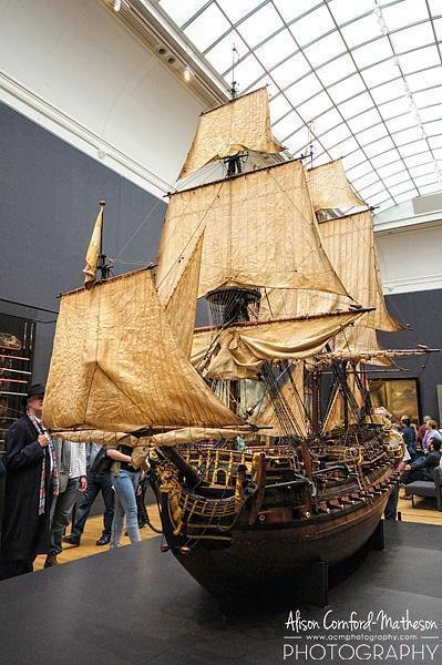 Model of the William Rex, Cornelis Moesman, Adriaen de Vriend, 1698