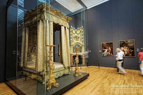 Four-poster bed, c. 1715 - c. 1720