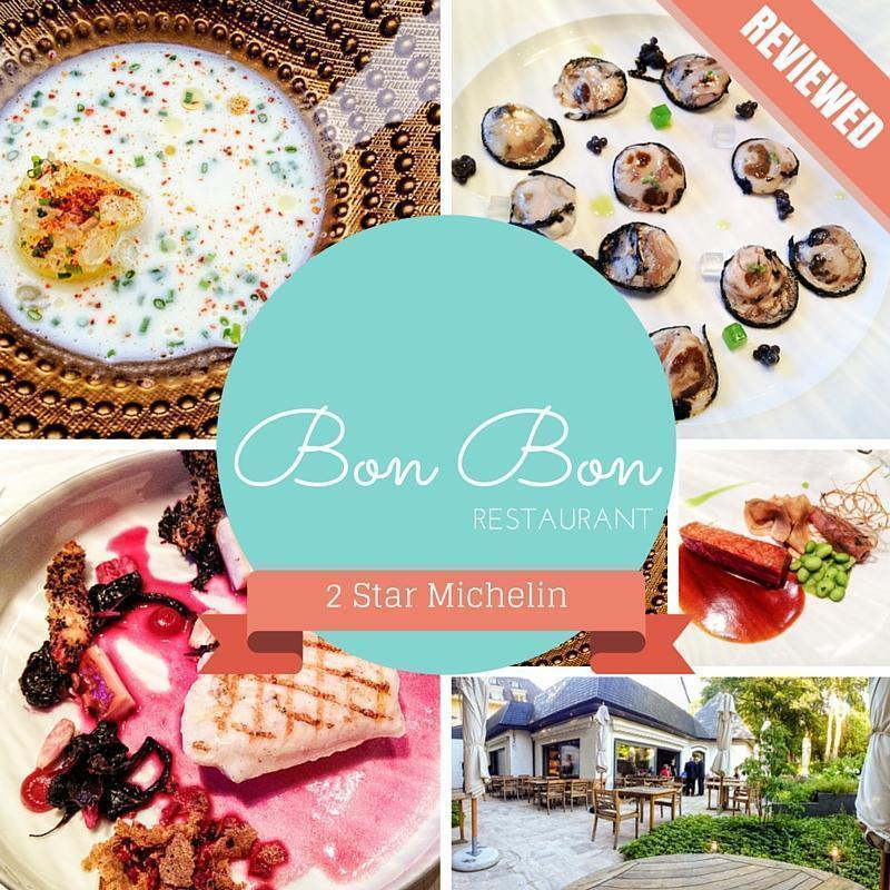 Bon Bon - Two star Michelin restaurant in Brussels, Belgium