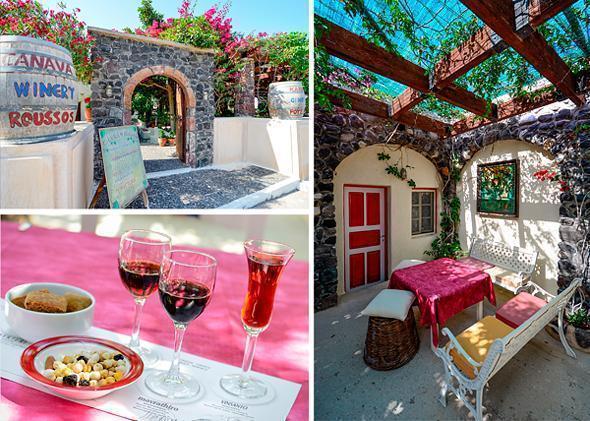 Canava Roussos Vineyard, Santorini