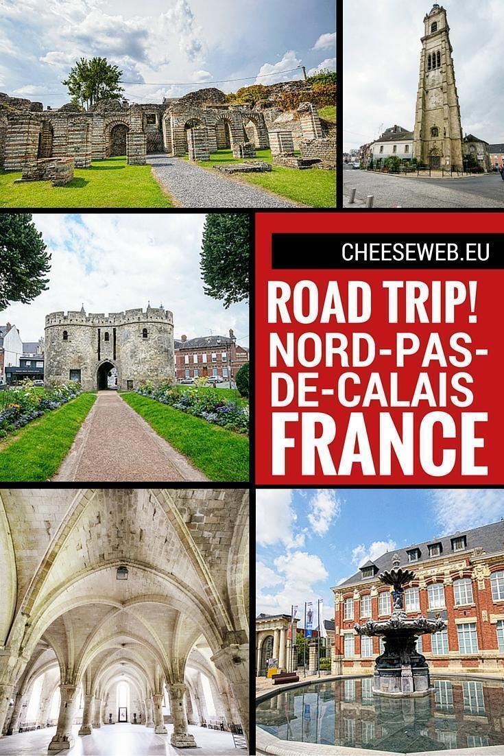 Nord-pas-de-Calais, France, Road-Trip