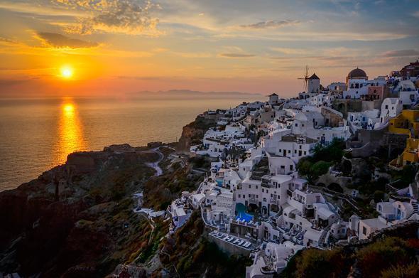 Magical and Romantic Oia, Sanortini, Greece