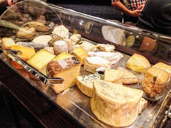 Maybe I'll go back just for the cheese course...