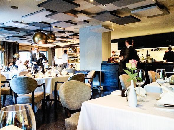 Restaurant Bon Bon's interior - stylish but not stuffy