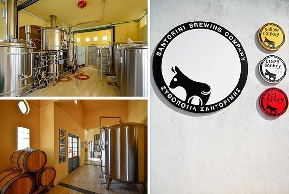 Donkey Brewing Company - Santorini's official beer