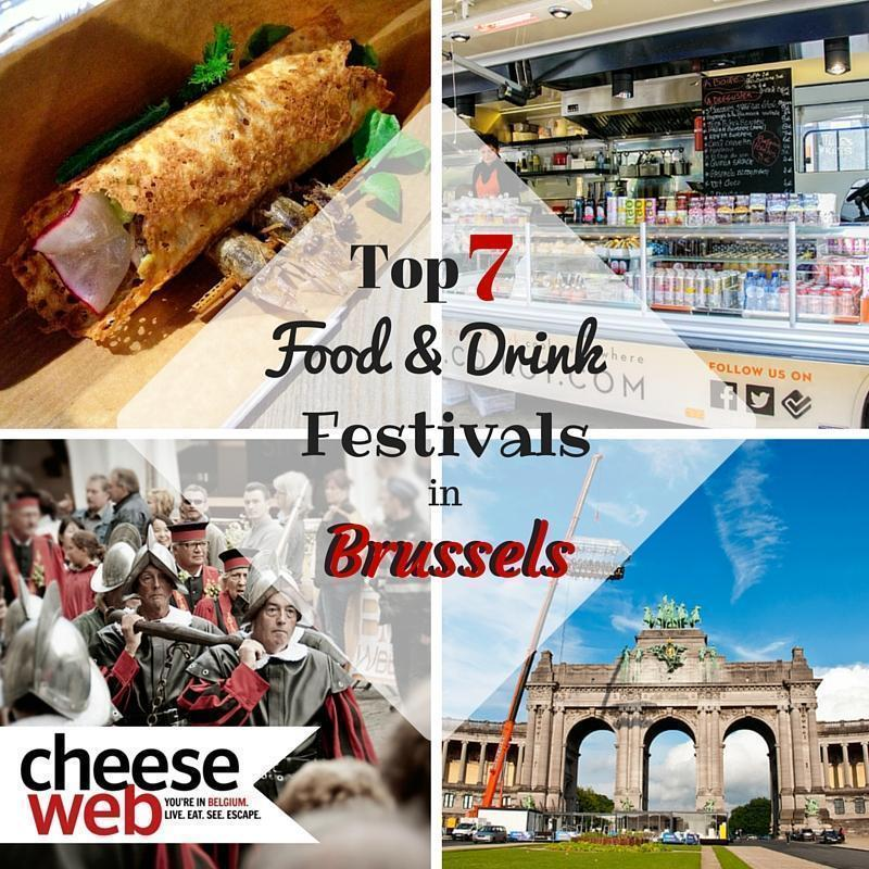 Our top 7 Food and Drink Festivals in Brussels, Belgium