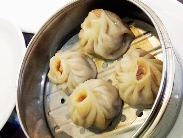 Oh soup dumplings, how I love you...