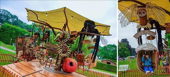 The Nomad Tree Merry-go-round