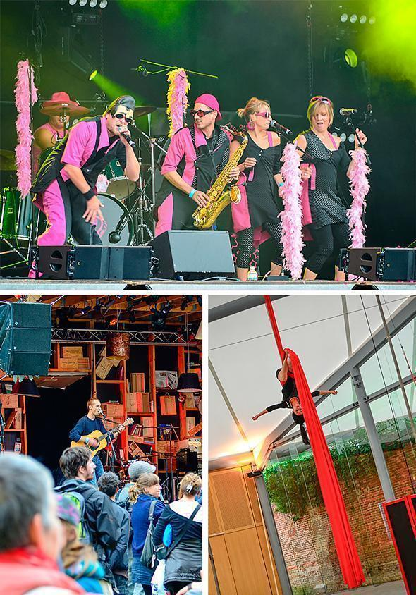 Music and entertainment at the LaSemo Festival