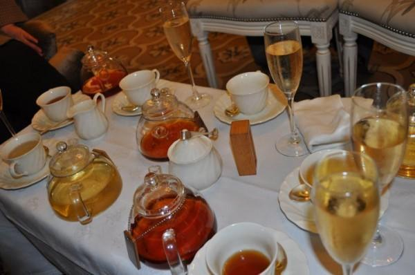 Tea time at the Belmond Mount Nelson Hotel