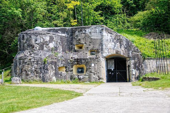 From the outside, it's hard to imagine how large Fort Eben-Emael actually is.