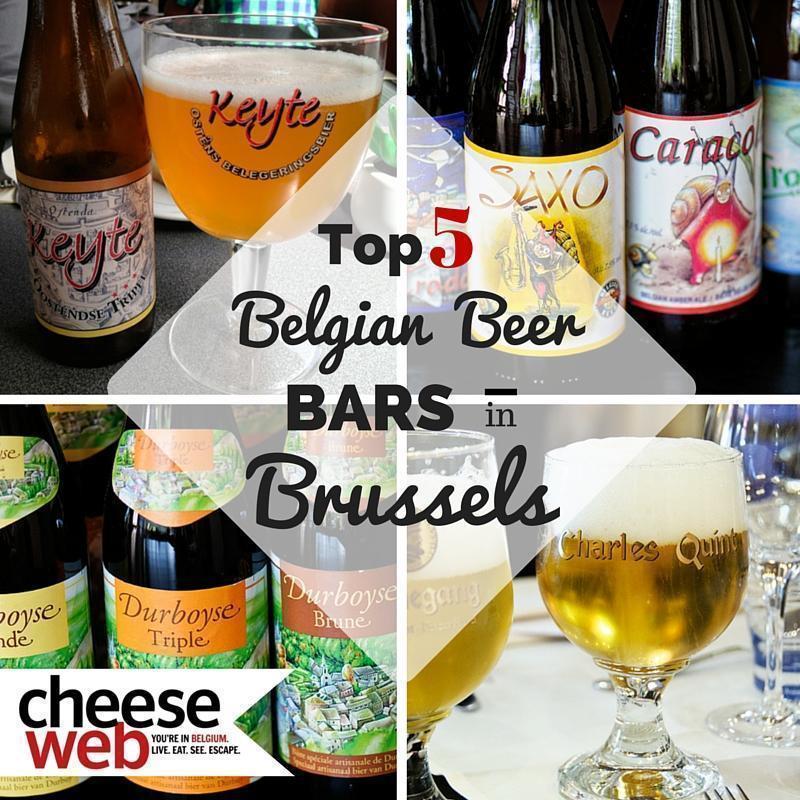 Our Top 5 Beer Bars in Brussels, Belgium