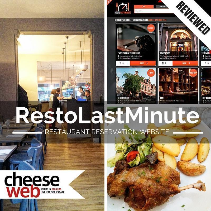 Resto Last Minute restuarant reservation website review