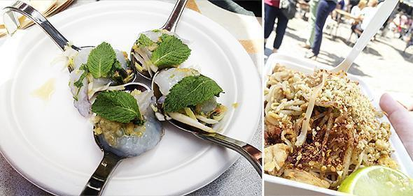 Chang Noi is a little Thai food truck that packs a load of flavour!