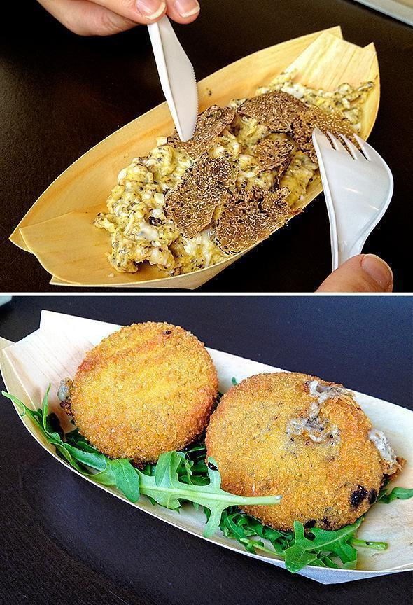 Urban Cosi is truffle heaven with croquettes and scrabbled eggs a la truffe!