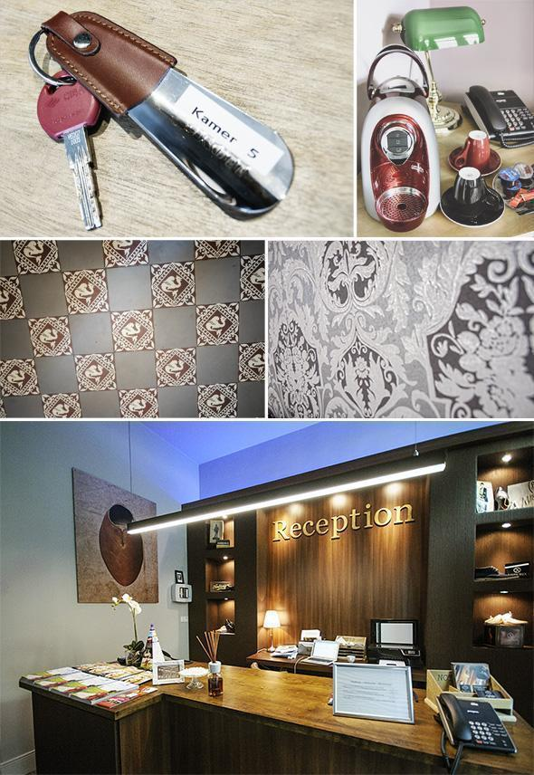 Attention to detail is taken throughout the boutique hotel