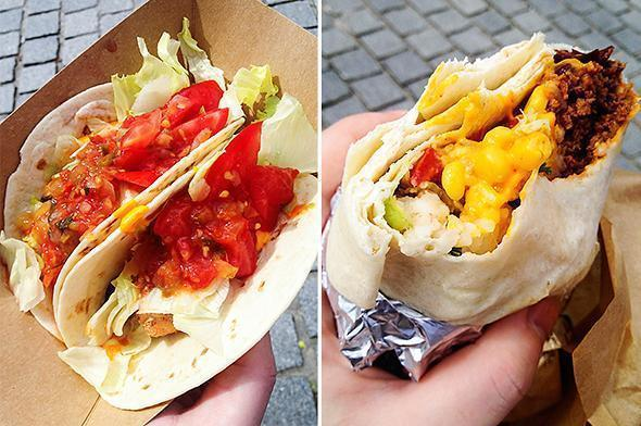 Fresh and colourful Tex-Mex food from El Camion Mexican Cantina