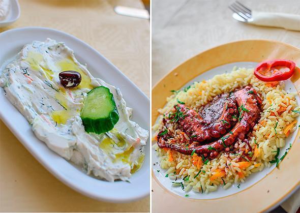 Tasty flavours of Greece at Skala Restaurant