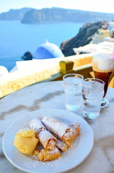 Sweet treats with a view at Melenio