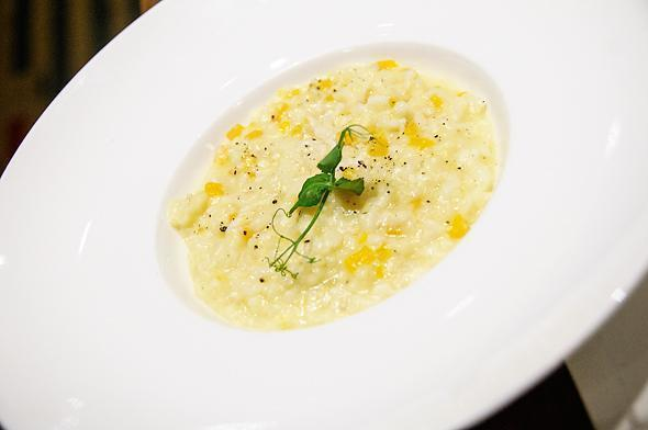 Tasty risotto at Willards Restaurant
