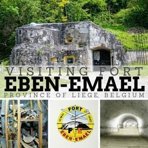Visiting Fort Eben-Emael in Liège, Belgium