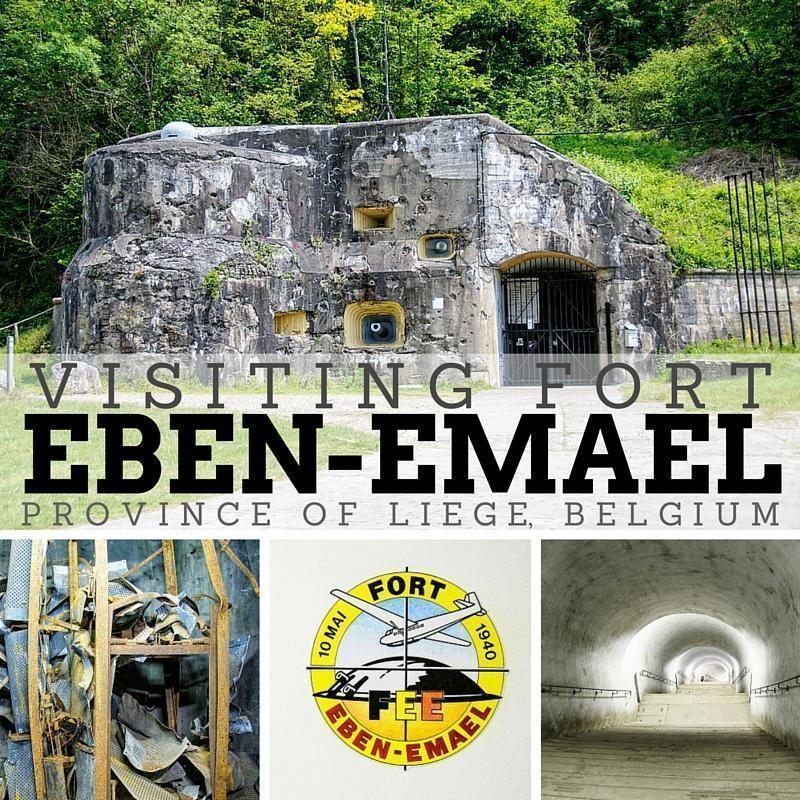 Visiting Fort Eben-Emael in Liège, Belgium