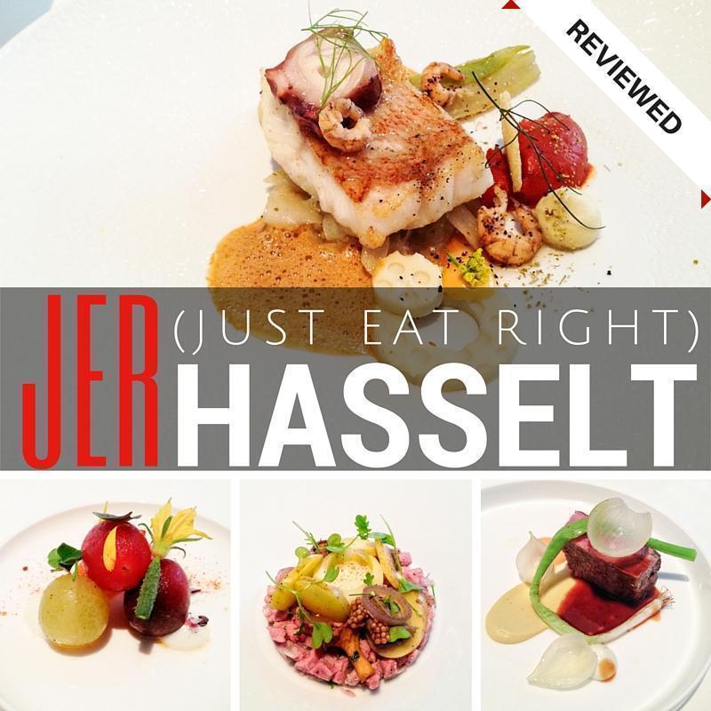 JER Michelin-Starred Restaurant in Hasselt, Belgium