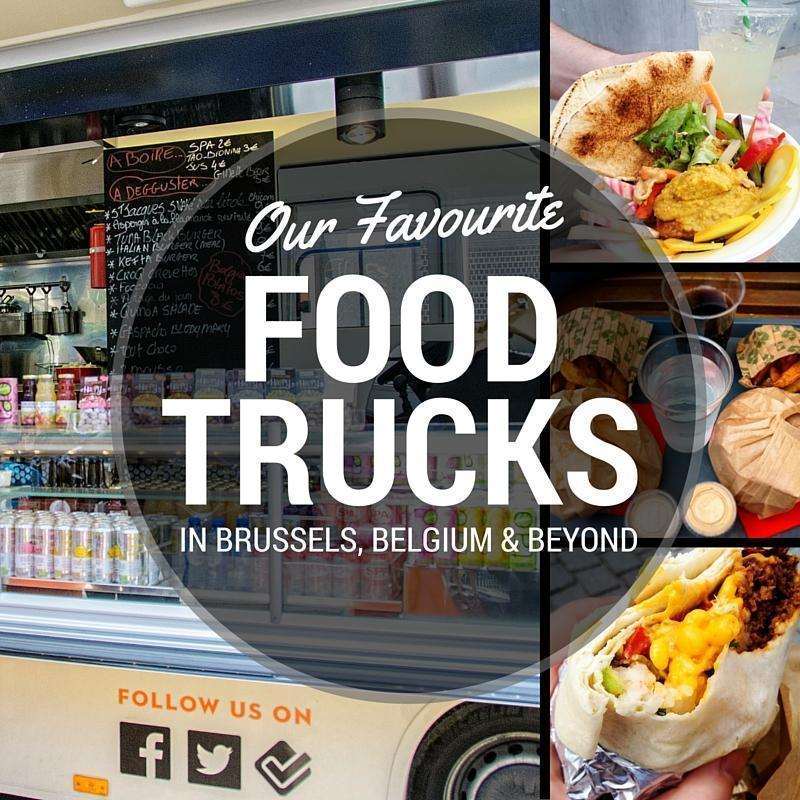 9 top Food Trucks in Brussels, Belgium, and beyond!