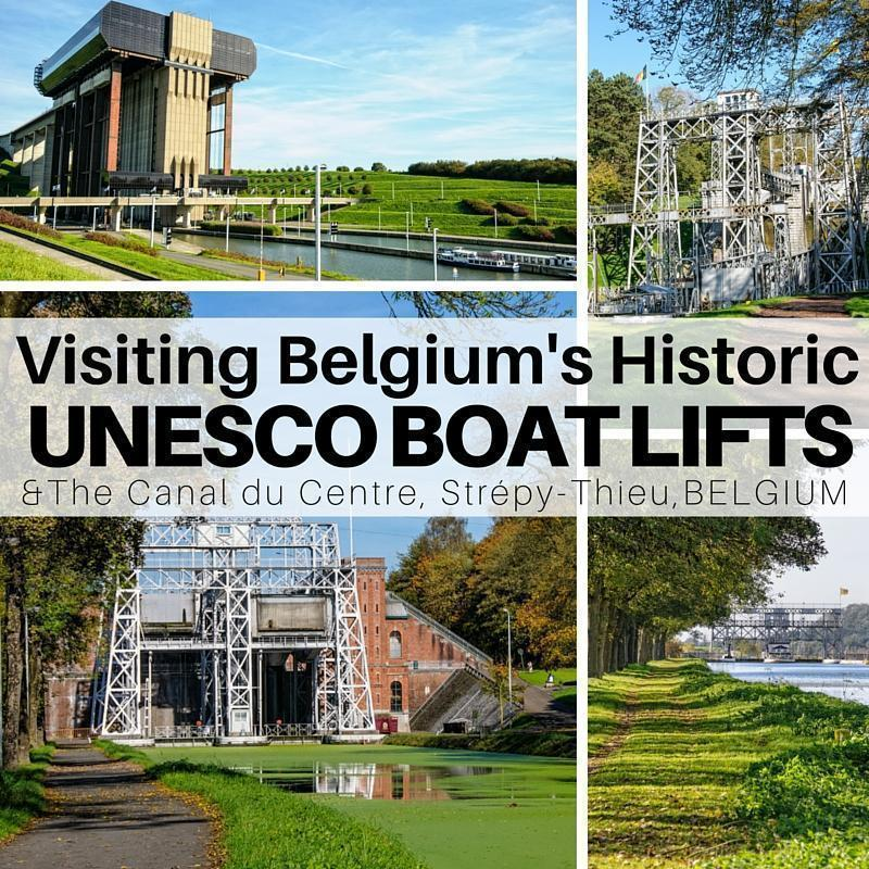 Visiting Strepy-Thieu and the Four Historic Boat Lifts in Hainaut, Belgium