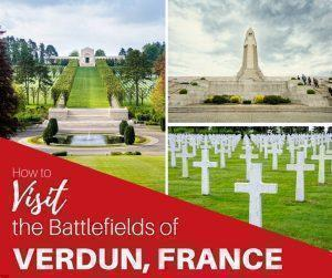 """The Grand Est region of France was witness to some of the most devastating fighting in World War I. We joined the Expat Club tolearn more about the """"Hell of Verdun,"""" and visit the battlefields of Verdun, France."""
