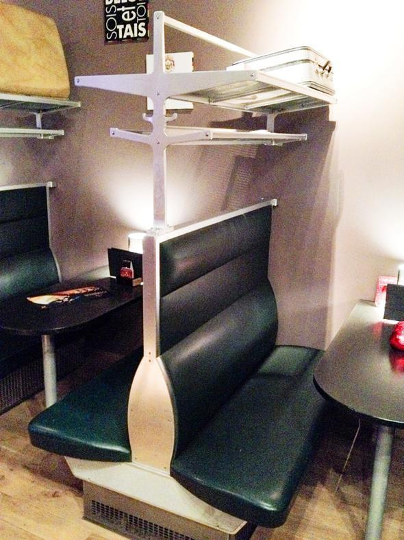 First Class train seats give this Belgian beer bar its name.