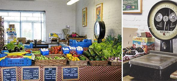 The Van Camp farm shop sells beautiful local produce