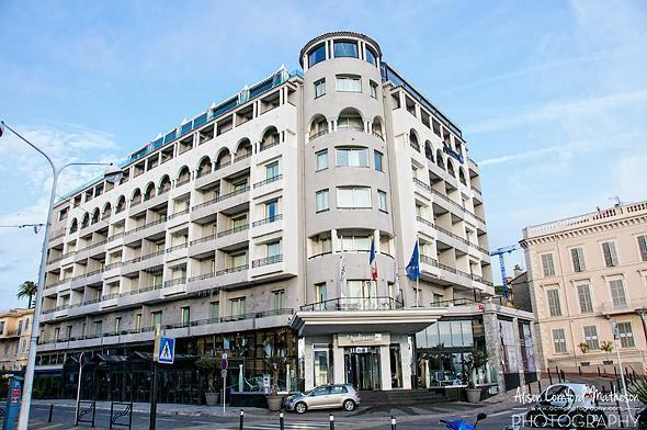 The superbly located Radisson Cannes