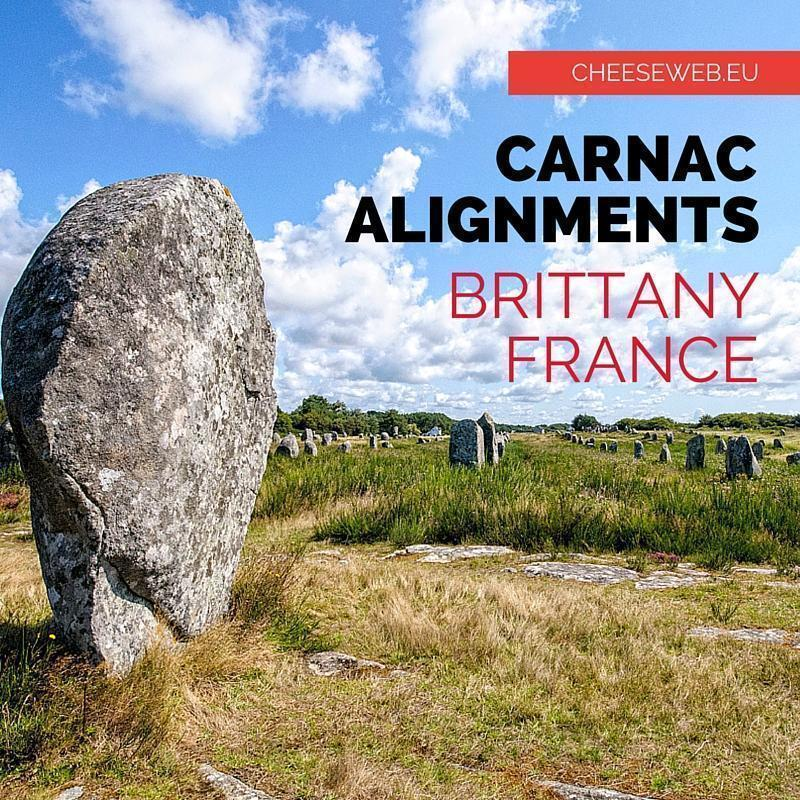 The Carnac Alignments, Brittany, France