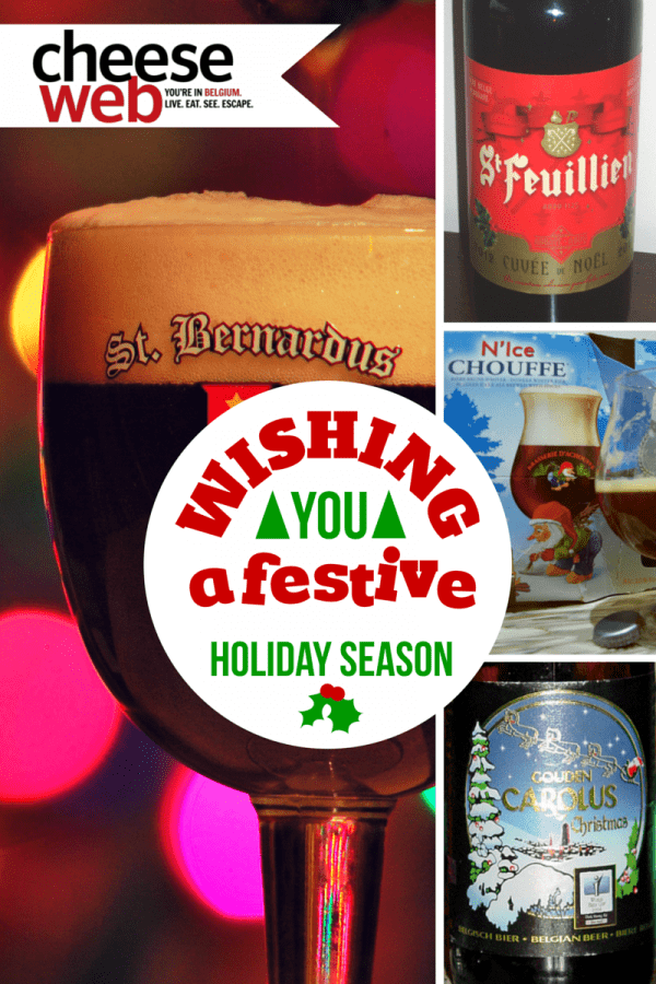 Andrew gets in the holiday 'spirit' by discussing the best Belgian Christmas and Winter beer.