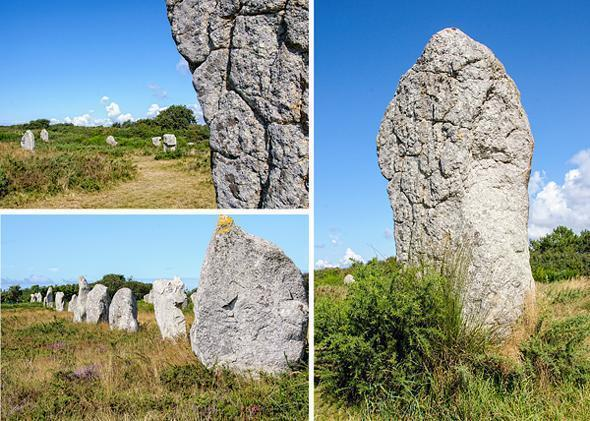Up close and personal with the Carnac standing stones