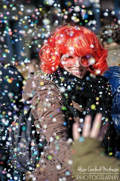 At least the confetti makes a great photo subject