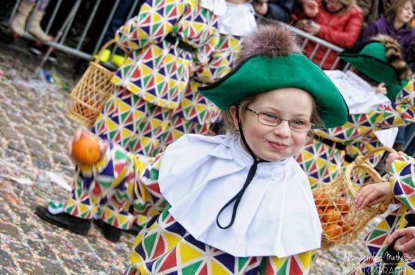A Happy Harlequin