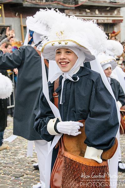 The elegantly dressed peasants