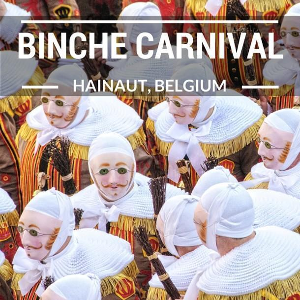 A behind the scenes look at the Carnival of Binche, Belgium