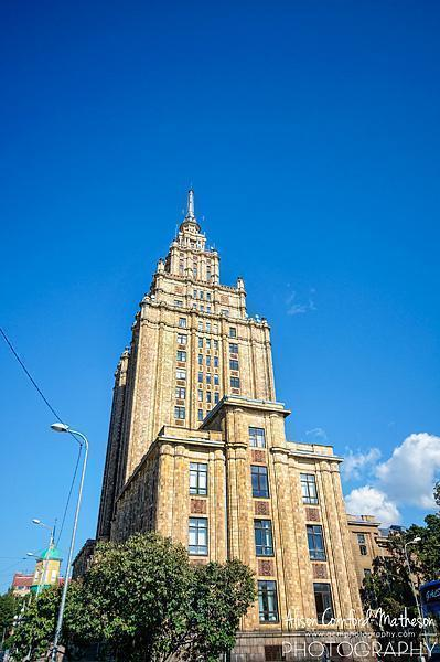 The Latvian Academy of Sciences Building has a stately grandeur