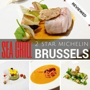 Sea Grill 2 Star Michelin Restaurant in Brussels, Belgium