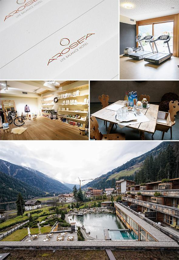 The Arosea Life Balance Hotel sits comfortably in the Val d'Ultimo, in South Tyrol