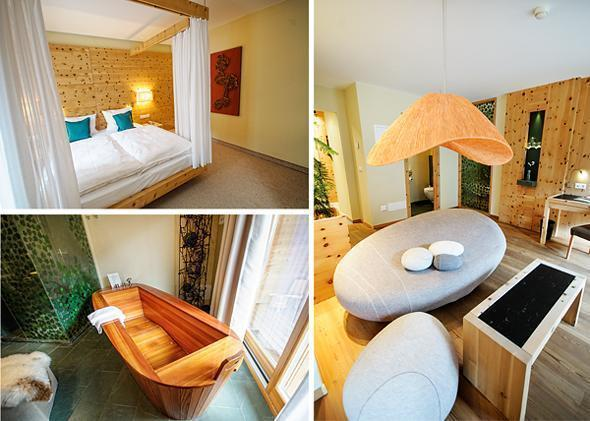 The family suite at Arosea is gorgeous