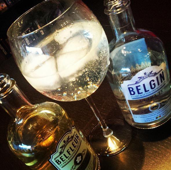 Alison's favourite cocktail - Belgin Ultra 13 and Belfleur