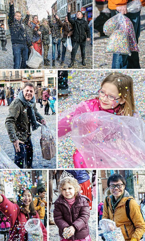 I'm still finding confetti from last year's carnival!