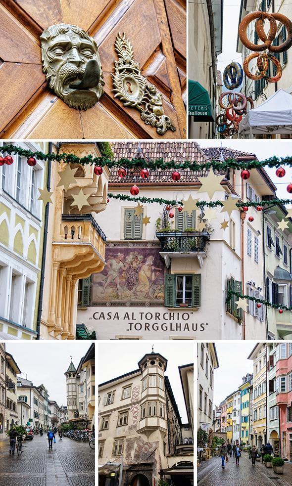 Bolzano's quirky and vibrant architecture