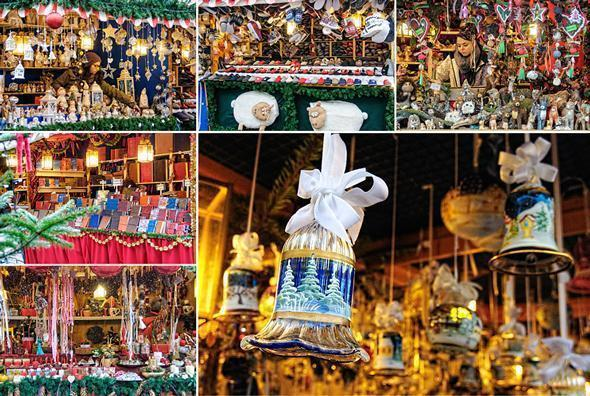 Beautiful handcrafted gifts at the Bolzano Christmas Market