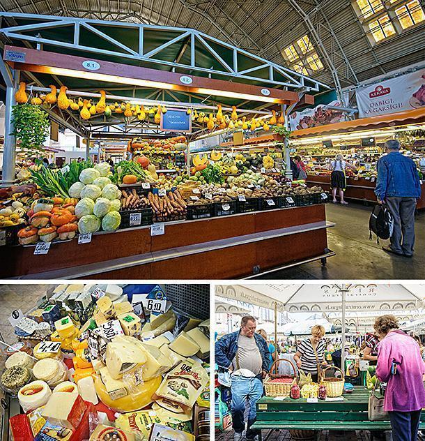 Riga's Central Market is a heaven for foodies